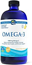 Nordic Naturals Omega-3, Lemon Flavor - 1560 mg Omega-3-16 oz - Fish Oil - EPA & DHA - Immune Support, Brain & Heart Health, Optimal Wellness - Non-GMO - 96 Servings