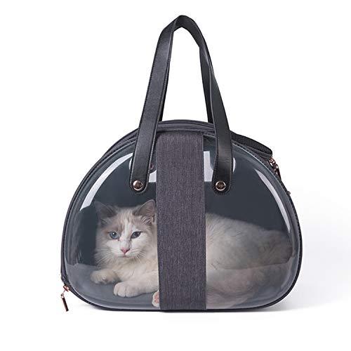PETCUTE Bolsa de Transporte para Gatos Transportin Gato Bolsas de Transporte para Perros pequeños Plegable Transpirable para Gatos Dentro de 5 kg