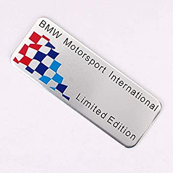 YH 1x M Performance Motorsport Alloy Sticker Badge Decal Emblems for BMW All Series V-021