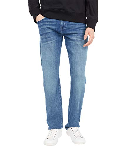 7 For All Mankind Mens Straight Leg Jeans, Baring, 29W x 34L