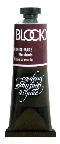 Blockx Mars Brown Oil Paint, 35ml Tube