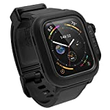 330ft Waterproof Case Designed for Apple Watch Series 6/SE/5/4 44mm, Soft Silicone Watch Band, Shock Proof Rugged Protective case Designed for Apple Watch by Catalyst