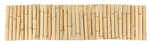 Windhager Beeteinfassung Bambusrolle,Beetumrandung, Bambuszaun gerollt, natur, 120 x 30 cm, 06461