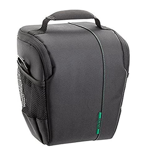 RIVACASE SLR Colttasche – Elegante Tragetasche mit verstellbaren Trennwänden und Zubehörfächern - Schwarz