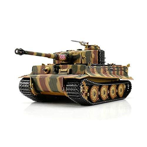 TORRO 3818-D1 - Panzer Tiger I. Späte Ausführung Metall Profi-Edition IR Version, tarn