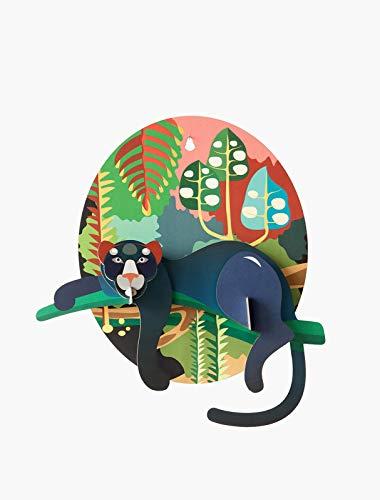 Studio ROOF - Decoración de Pared 3D de Puma, diseño de Selva