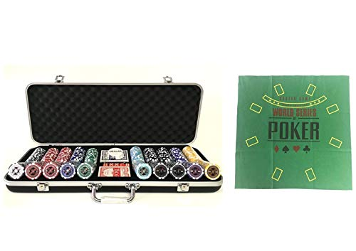 Pokerproductos Maletín 500 fichas Ultimate con tapete de Regalo