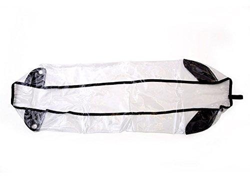 Croozer Unisex Jugend Regenverdeck-3092025410 Regenverdeck, grau, One Size