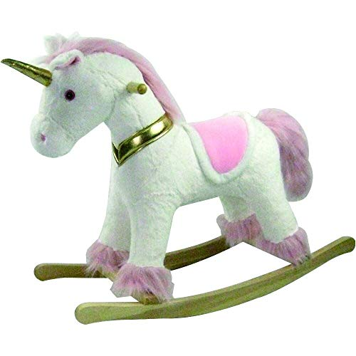 Lowest Price! CUDDLES COLLECTION Rocking Animal Large Unicorn