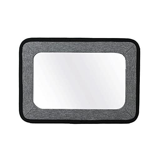 Specchietto Retrovisore Bambino,Trpambvia Porta Tablet per Specchietto Auto per Bambini Stoccaggio Multifunzionale con Cinturino in Nylon...