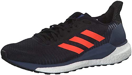 Adidas Glide ST 19 M, Zapatillas Running Hombre, Negro (Core Black/Solar Red/Tech Indigo), 40 EU