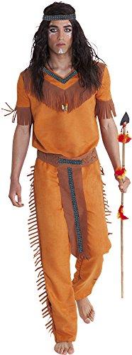 Rubies- Disfraz indio sioux adultos, Talla única (Rubie's Spain S8232)