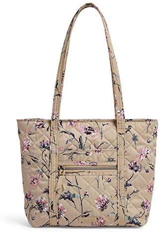 Vera Bradley Performance Twill Small Vera Tote Bag Strawflowers product image