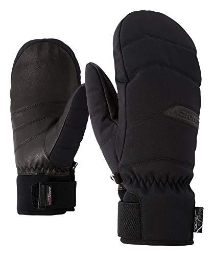 Ziener Damskie rękawiczki narciarskie KOMILLA AS(R) AW MITTEN lady glove rękawice narciarskie, czarne, 7 (S)