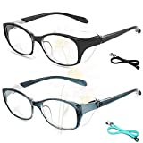 Anti Fog Safety Glasses for Women Men Stylish UV Protection Anti Scratch for Women for School Outdoor Work
