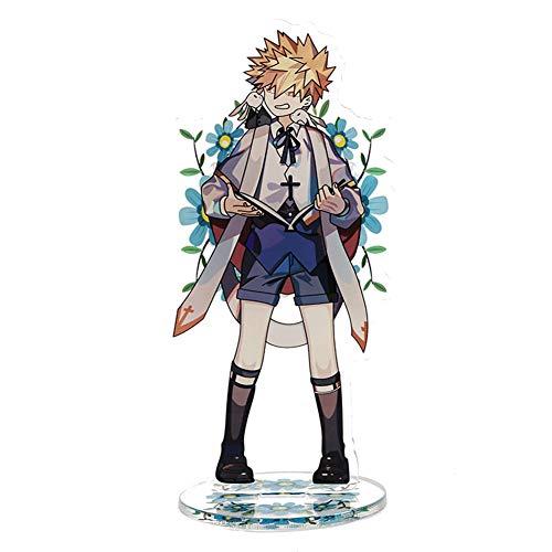 AMA-StarUK36 My Hero Academia Acryl Ständer Modell Kreative Ständer Niedlich Transparent Stehtisch Schmücken Cartoon Action-Figur Anime Fan 15 cm( H01)