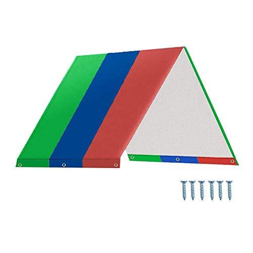 """Whewer Swing Set Replacement Tarp Kids Playground Roof Canopy 51.97"""" X 88.98"""" Playset Tarp"""