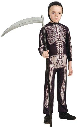Rubie's-déguisement officiel - Rubie's- Déguisement Squelette - Taille 5-7 ans- I-883797M
