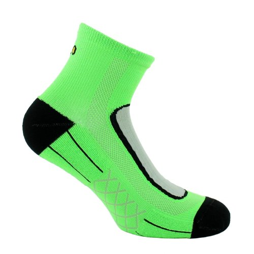 Thyo - Socquettes Run Lighty Vertes - 35/37