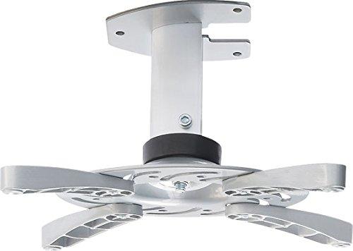 DMP PM 101 Halterung für Projektor (max. 15kg, Deckenabstand:n 15,6 cm) Silber
