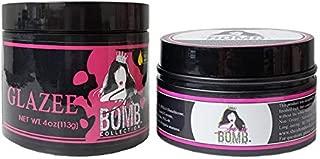 She Is Bomb Collection Edge Gel 3.5oz + Glazee 4oz