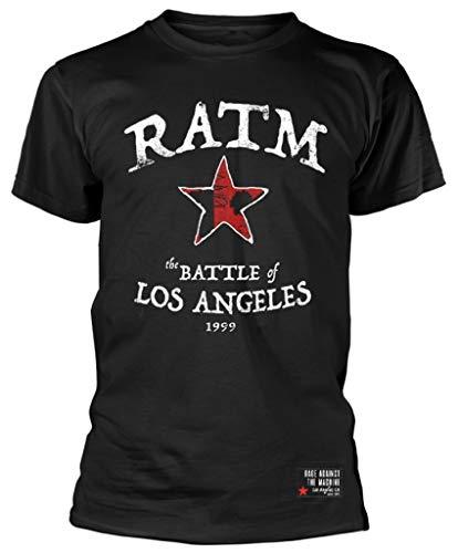 Rage Against The Machine 'Battle Star' (Black) T-Shirt (XX-Large)