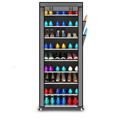 Chaussure armoire chaussure rack multi-couche rangement chaussure armoire multifonction simple économique maison de chaussure rack,Gray