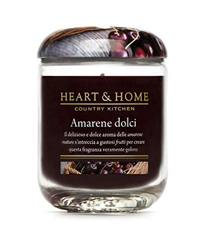 Heart & Home cerises aigres douces Large Candle 340 gr
