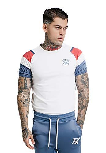Sik Silk Camiseta Raglan Sprint Beige