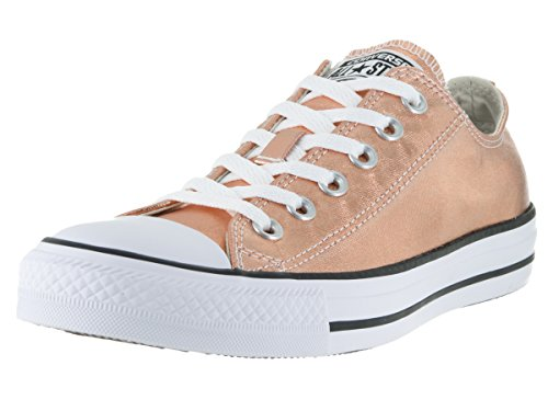 Converse Unisex Chuck Taylor All Star Ox Low Top Classic Metallic Sunset Glow/White Sneakers - 7.5 B(M) US Women / 5.5 D(M) US Men