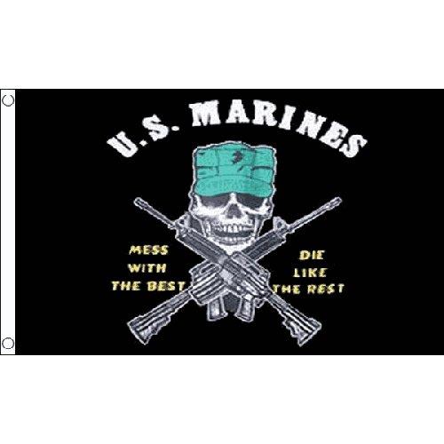 Mariniers puinhoop met de beste vlag 5ft x 3ft