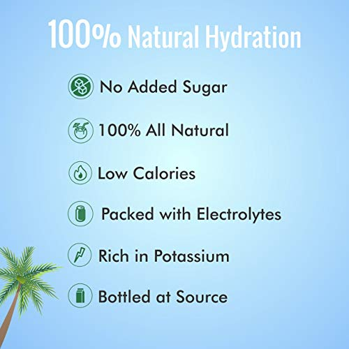 TENDO 1 Litre Natural Tender Coconut Water, Pack of 12