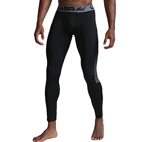 Mode Herren Einfarbig Elastische Tights Atmungsaktiv Leggings lange Streetwear Sporthose, Freizeit Laufhose Yoga Hose Sporthose Fitnesshose Jogginghose Sporthose Jogging Pants Fitness Sport Gym