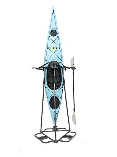 SPAREHAND Glacik Vertical Storage Rack for 3 Kayak or 6 SUP Paddle Boards, Bronze, Full Rack