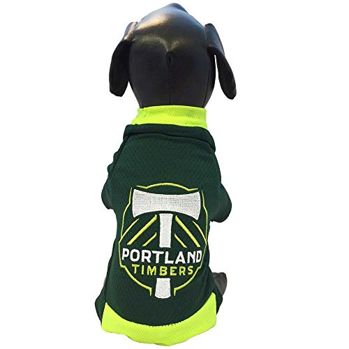 MLS Portland Timbers Athletic Mesh Dog Jersey, X-Large, Forest