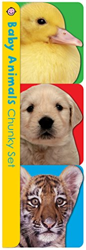 Chunky pack: Baby Animals Chunky Set (3 titles): Pets  Farm  and Wild Animals (Chunky 3 Pack)