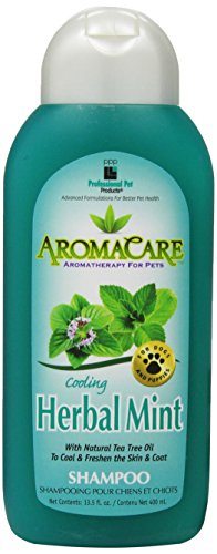 PPP Pet Aroma Care Cooling Herbal Mint Shampoo, 13-1/2-Ounce