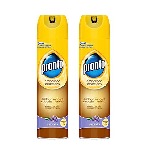 Spray Limpiador de Madera Lavanda, Pack de 2 x 300 ml