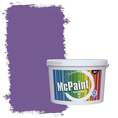 McPaint Bunte Wandfarbe Violett - 5 Liter - Weitere Violette Farbtöne Erhältlich - Weitere Größen Verfügbar