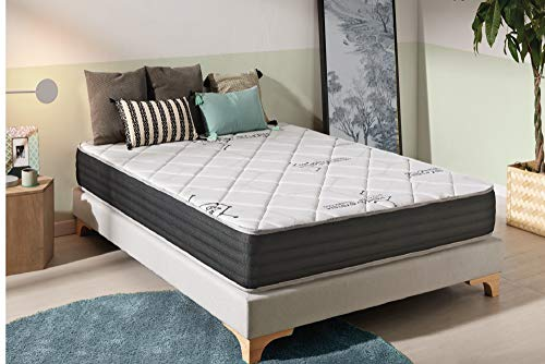 naturalex Viscosystem | Newly Launched Memory Foam Mattress with Double Stretch Extra Soft Fabric | 6ft Super King Size 180x200cm | Breathable and Fresh for Added Comfort | 10 Year Warranty
