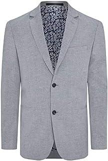 Tarocash Men's Wilson Linen Blend Blazer Linen Blend Sizes Small - 5XL for Going Out Smart Occasionwear