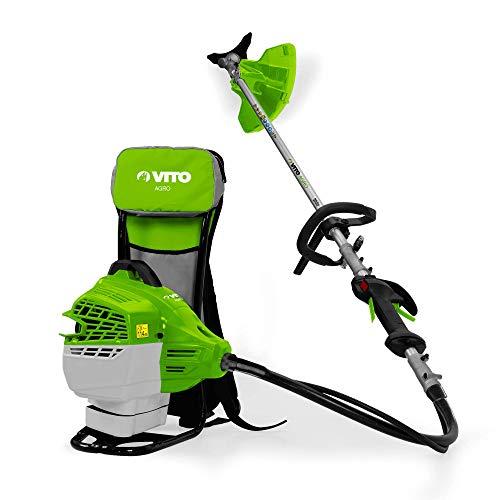 VITO Professional R47cc BACKPACK rückentragbare Motorsense 2,72 PS 47CC VIRM47 Freischneider Benzin Motorsense