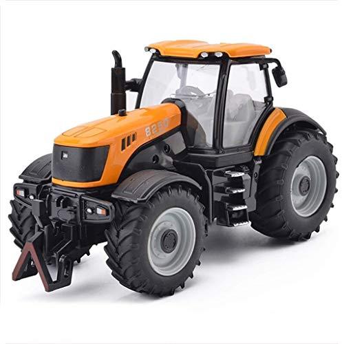 CRRQQ Coche Modelo de Tractor de simulación de aleación de fundició