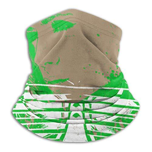 XCVD Calentador de cuello de microfibra del cráneo de la personalidad de la media cara de los pañuelos para el aire libre, deportes