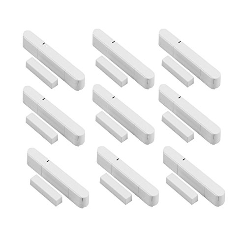 9 Stück Tür - Fensterkontakt für Funk Alarmanlagen der OLYMPIA Protect Serie 6571 60xx 90xx