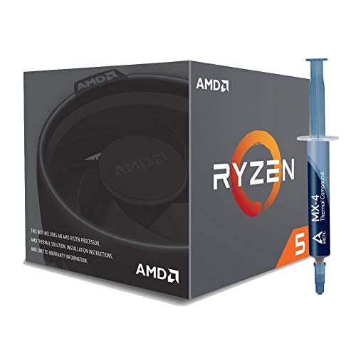 Special Bundle - AMD YD260XBCAFBOX RYZEN 5 2600X 6-Core 3.6 GHz Socket AM4 95W Desktop Processor +...