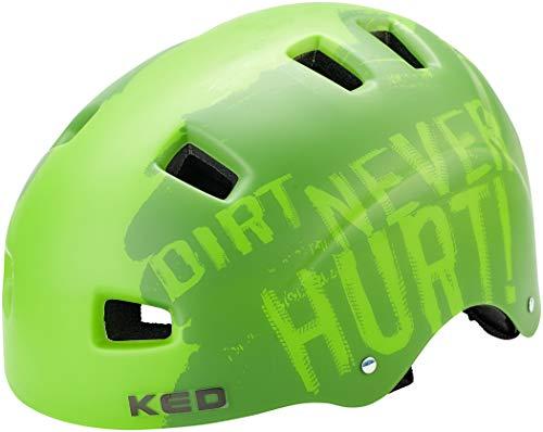 KED 5Forty Helmet Kinder Dirt Green Kopfumfang M | 54-58cm 2020 Fahrradhelm