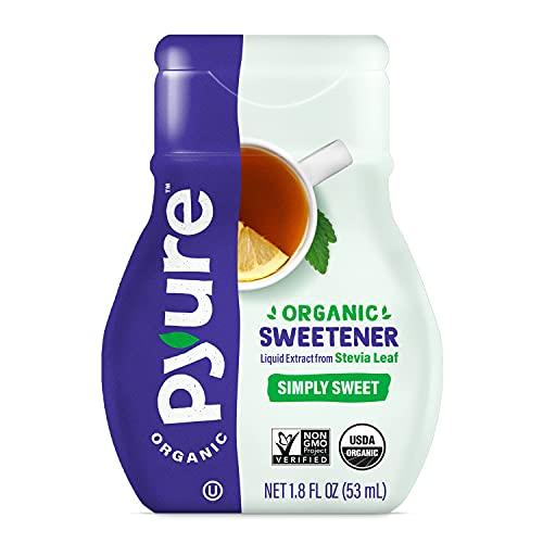 Pyure Organic Liquid Stevia Extract Sweetener, Simply Sweet, Sugar Substitute, 200 Servings, 1.8 Fluid Ounce