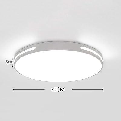 Lamker Plafones 24W Plafón baño LED Iluminación de Techo ...