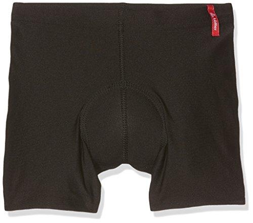 LÖFFLER Kinder KI. RADUNTERHOSE Elastic Unterhose, Schwarz, 140